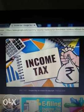 CA for income tax return fiing GST