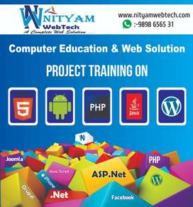 Nityam Webtech ,php android java net project training in Rajkot