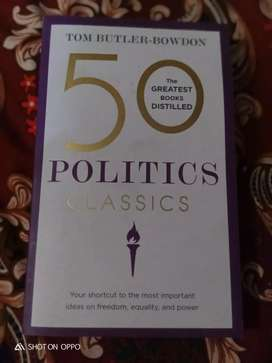 "50 POLITICS CLASSIC ""By TOM BUTLER-BOWDON"""