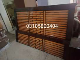 Double Bed new style King size new brand holsel rate pe warranty K sat