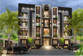 GET 3 MARLA 1BED APARTMENT ON THE PRICE OF PLOT,BOOKING ON 10% D.PAY