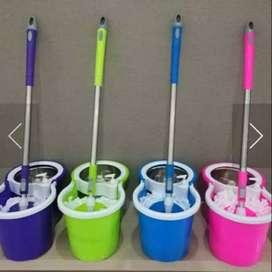 Spin mop Shenar pengering stainless