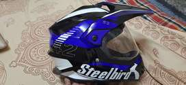 Only 1 month old steelbird aesthetic looking Helmet with bill.