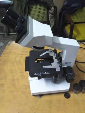 Microscope + Centrifuge Machine + Pippet/Adjuster+ESR Stand