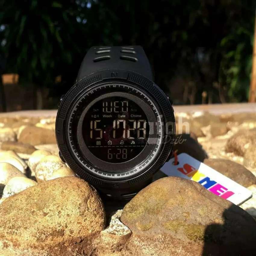 Jam Tangan SKMEI DG1251 WaterProof - Hitam 0