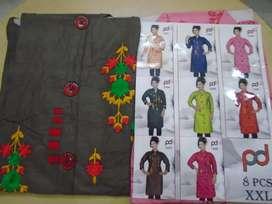 Saree, blouse and salwar