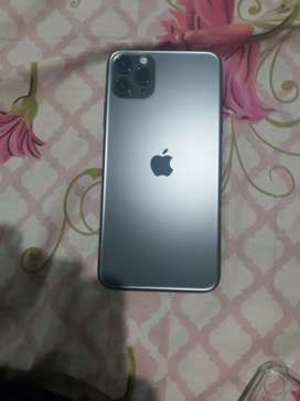 Iphone 11 pro max 64 gb physical+e sim pta approved full box