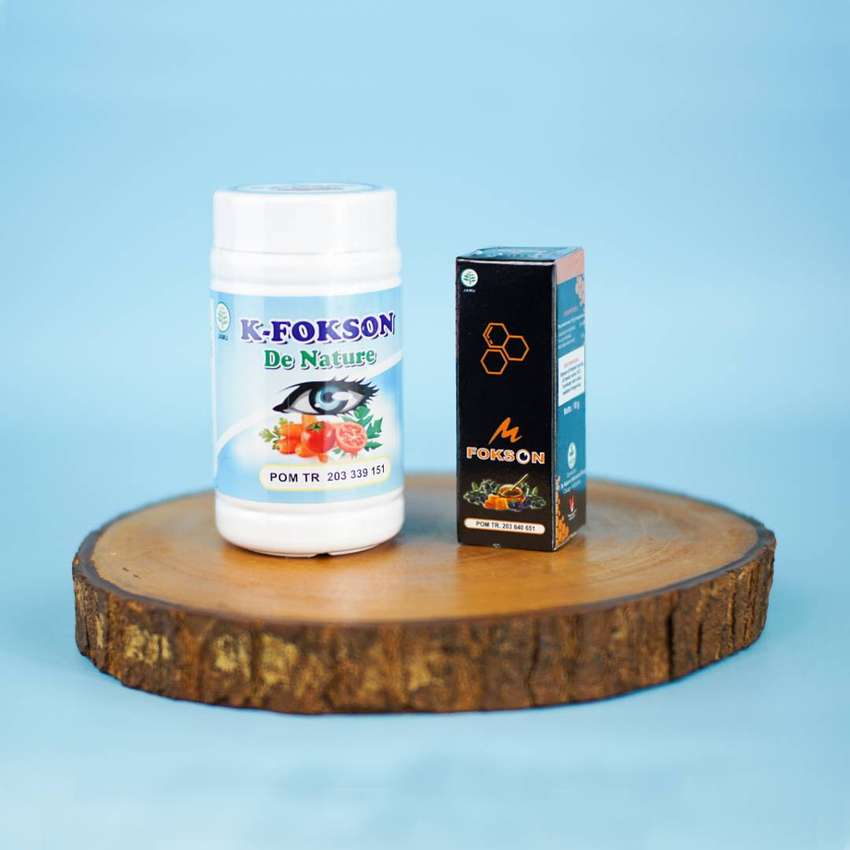 K Fokson Obat Herbal Mengatasi Katarak, Silinder De Nature
