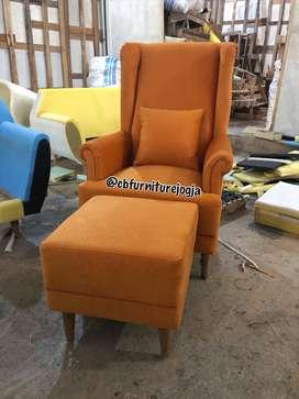 Sofa wingchair , harga murmer