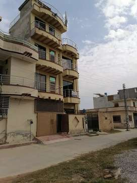 5 Marla newly built house on rent Shaheen Town Lethrar Road Islamabad
