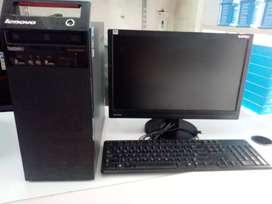 "Lenovo M71 tower i5-2nd, 4GB RAM,500GB,19"" LCD full desktop"