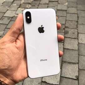 iPhone X 64GB Silver Internasional Harga mumer