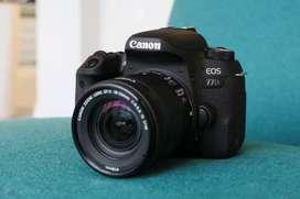 Kredit Kamera Bandung Canon Eos 77D Tanpa Kartu Kredit Proses Cepat!