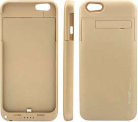 External Battery Case for Iphone 6 & 6s 3500mAh =Gold