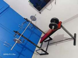 Gym Bench And Weights For Sale