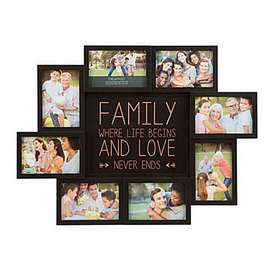 Customized wall hanging photo frame personalized with your pictures