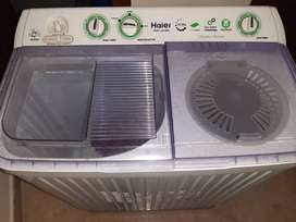 New HAIER washing machine along with spinner