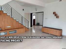 PAY JUST RS.3,048/- Modern Villas For Sale in olavakode