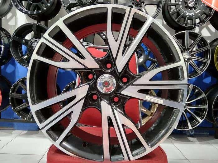 Jual Velg Mobil BMW, Landrover Ring 17 BAYERISKET HSR Black Machine Fa 0