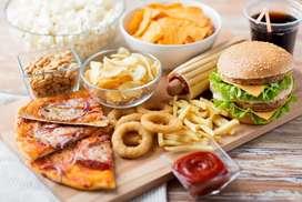 Fast foods --  Momos, chaumin, mashal dhosha, pasta etc