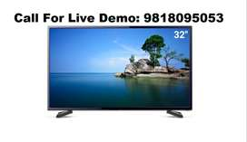 """32"""" Non-smart/Normal Full HD Led TV With 1 Year Onsite Warranty"""