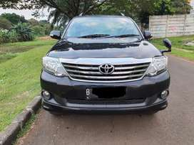 TOYOTA, FORTUNER, G, DIESEL, MATIC, TH 2012