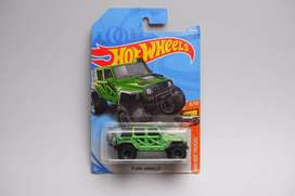 Hot wheels jeep wrangler hijau
