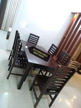 Pure Teak wood Dinning table