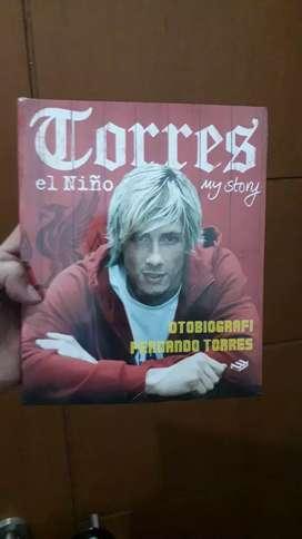 Buku Biografi Fernando Torres ( new )