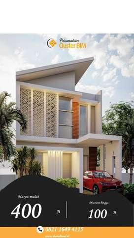Jual rumah minimalis Islami lantai 2