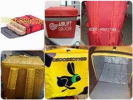Home delivery bags maker all fast food machinery cone machine oven fry