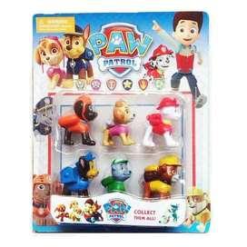 Figure Paw Patrol isi 6 pcs International / Mainan Anak Laki laki Paw