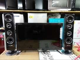 TV Polytron 22 inch + Speaker