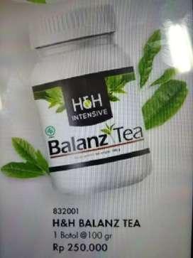 Balanz tea , teh kesehatan untuk pelangsingan