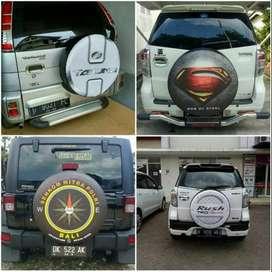 Cover/Sarung Ban Jeep/Rush/Terios/Touring/Ecosport/Dsb 12 logo usaha a