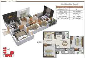 2bhk flats in Vaishali Homes just 22.5 lac , JDA approved , Loanable
