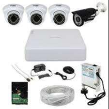 4CH HD CCTV Camera installation-