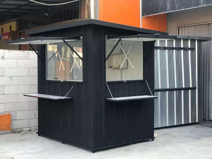 Container / Stand / Booth solusi untuk usaha anda 0