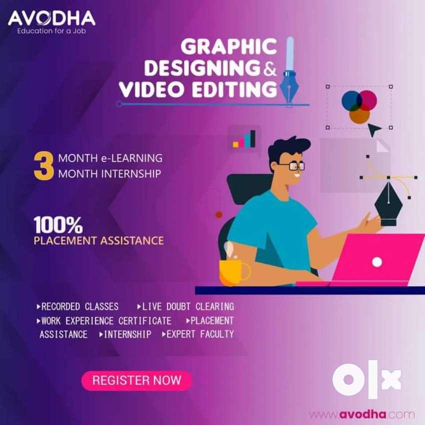 Graphics designer & video editing jobs
