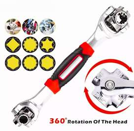 48 In 1 Multifunction Tiger Wrench 360* 6 Point Socket Vehicle Repair