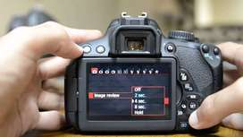 CANON 650D WITH 17-85MM LENS