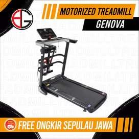 Treadmill elektrik iReborn Genova alat fitness AB529