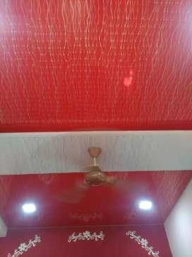 PVC ceiling work 85rs sqft.