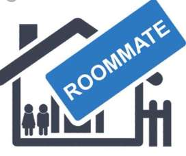 Need a roommate in 2bhk flate semi furnished Rent