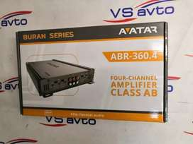 Car Avatar amplifier 4 channel amplifier 90RMS X 4 ABR 360.4 NEW BRAND