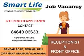 JOB VACANCY FOR FEMALE RECEPTIONIST