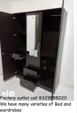 2 3 4 Door wardrobes from factory unit
