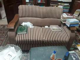 9 seater Sofa set with wooden hand base