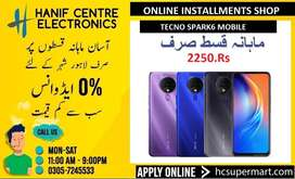 TECNO SPARK6 MOBILE ON INSTALLMENTS SPARK6 EASY MONTHLY INSTALLMENTS