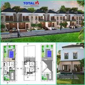 Villa minimalis ekonomis di Kampial, Nusa Dua, Kuta Selatan, Badung
